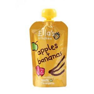 Ellas Kitchen BIO Ovocné pyré jablko a banán kapsička 120 g