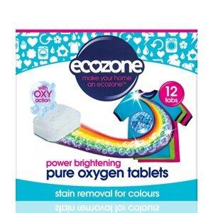 Ecozone Oxy Tablety na barevné prádlo 12 ks