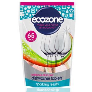 Ecozone Tablety do myčky Brilliance 65 ks