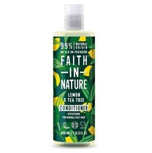 Faith in Nature Kondicionér Citrón & Tea Tree 400 ml