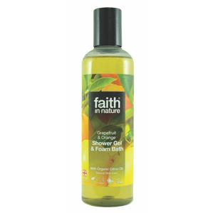 Faith in Nature Sprchový gel Grapefruit & pomeranč 250 ml