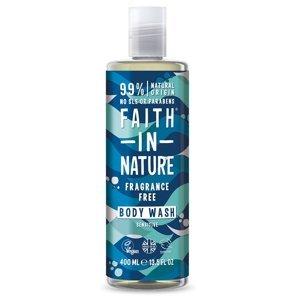 Faith in Nature Sprchový gel bez vůně hypoalergenní 400 ml