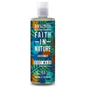 Faith in Nature Sprchový gel Kokos 400 ml