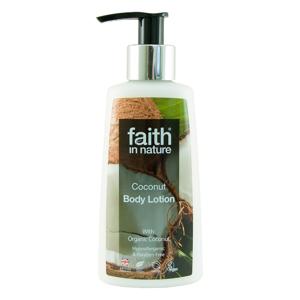 Faith in Nature Tělové mléko hypoalergenní Kokos 150 ml