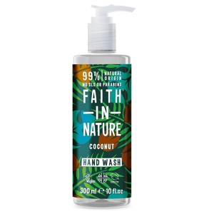 Faith in Nature Tekuté mýdlo s kokosovým olejem 300 ml
