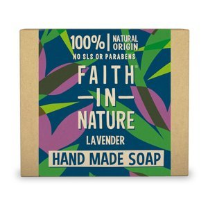 Faith in Nature Tuhé mýdlo Levandule 100 g