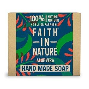 Faith in Nature Tuhé mýdlo Aloe Vera 100 g