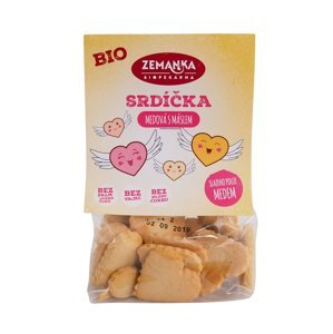 Zemanka BIO Medová srdíčka s máslem 100 g