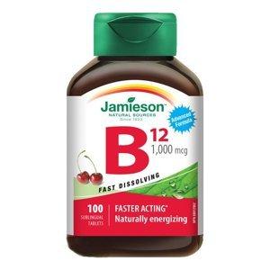 Jamieson Vitamin B12 1000 mcg třešeň 100 tablet