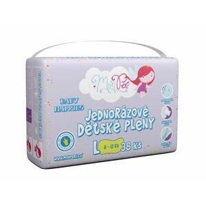 MonPeri Klasik L 8-12 kg dětské plenky 38 ks