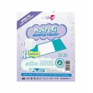 MonPeri Absorpční podložky XL 80 x 180 cm 10 ks