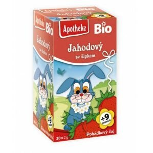 Apotheke Dětský BIO Pohádkový čaj Jahodový se šípkem 20x2 g