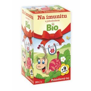 Apotheke Dětský BIO Pohádkový čaj Imunita s jahodníkem 20x2 g