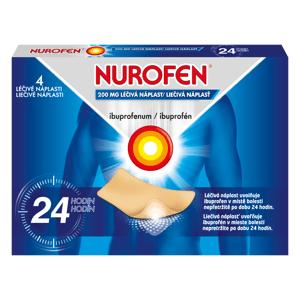 Nurofen 200 mg léčivé náplasti 4 ks