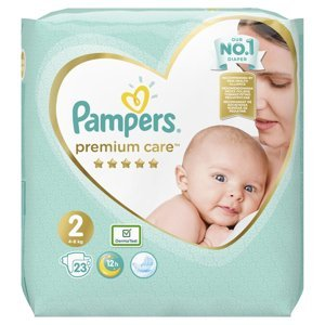 Pampers Premium Care vel. 2 4-8 kg dětské pleny 23 ks