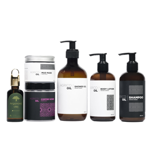 Agrico Oil Sada tělové kosmetiky s arganovým olejem 6 ks