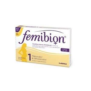 Femibion 1 Plánování a 1. trimestr bez jódu 60 tablet