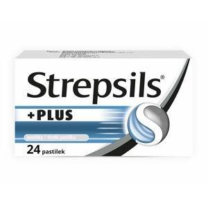 Strepsils Plus 24 pastilek