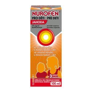 Nurofen pro děti jahoda suspenze 100 ml