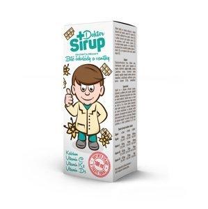 Doktor Sirup kalciový Bílá čokoláda a vanilka 100 ml