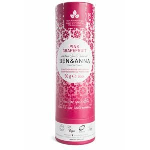 Ben & Anna Tuhý deodorant BIO Růžový grapefruit 60 g