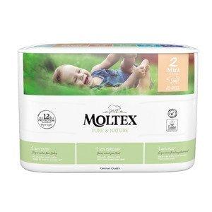 Moltex Pure & Nature Mini 3-6 kg dětské pleny 38 ks