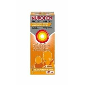 Nurofen pro děti 20 mg/ml pomeranč suspenze 100 ml