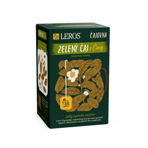 Leros Čajovna Zelený čaj z Číny porcovaný čaj 20x2 g