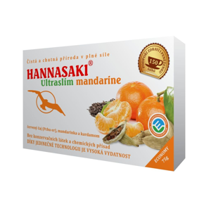 Hannasaki Ultraslim Mandarine sypaný čaj 50 g