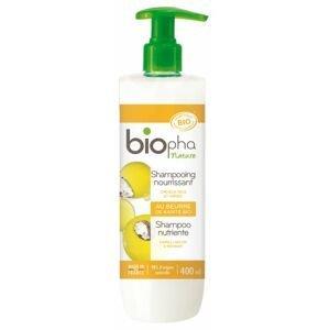 BioPha Výživný šampon s bambuckým máslem 400 ml