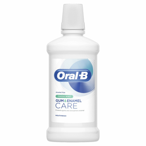 Oral-B Gum & Enamel Care Fresh Mint ústní voda bez alkoholu 500 ml