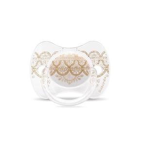 Suavinex Premium Couture Šidítko silikon 4-18m 1 ks bílé