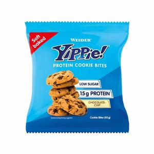 WEIDER YIPPIE! Protein Cookie Bites sušenky 50 g