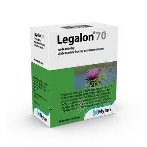 Legalon 70 mg 30 tvrdých tobolek
