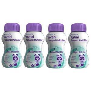 Fortini Compact Pro děti s vlákninou Neutral 4x125 ml