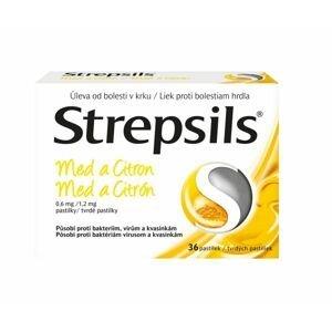 Strepsils Med a citron 36 pastilek