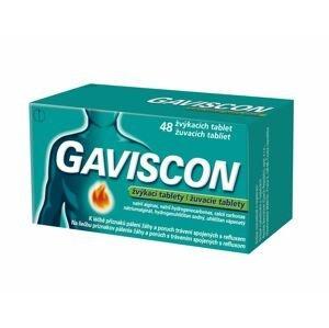 Gaviscon 48 žvýkacích tablet