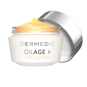 Dermedic Oilage Anti-Ageing noční krém pro obnovu hustoty pleti 50 g