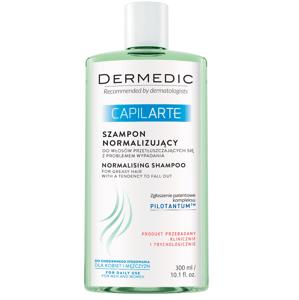 Dermedic Capilarte šampon pro mastné vlasy proti vypadávání 300 ml