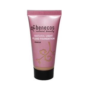 Benecos Lehký fluid make-up mocca 30 ml