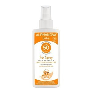 Alphanova SUN BIO Opalovací krém pro miminka SPF50 125 ml