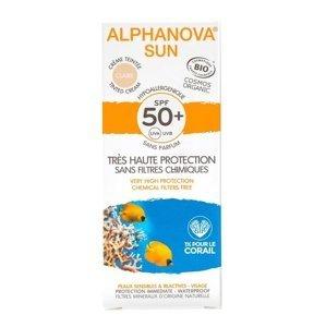 Alphanova SUN BIO Opalovací tónující krém světlý SPF50+ 50 g