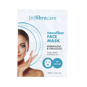 (n)fibrecare M2 Suchá pleťová maska hydratační a omlazující 1 ks