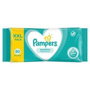 Pampers Sensitive XXL vlhčené ubrousky 80 ks
