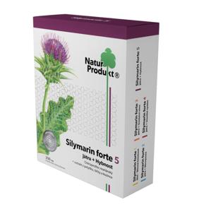 Naturprodukt Silymarin forte 5 Játra + Hybnost 40 tablet