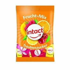 Intact Hroznový cukr Ovocný mix sáček 100 g