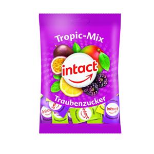 Intact Hroznový cukr Tropický mix sáček 100 g