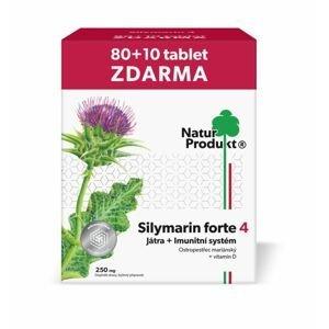 Naturprodukt Silymarin 250 mg + vitamin D3 80+10 tablet