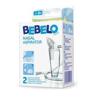 BEBELO Nasal Aspirator nosní odsávačka 1 ks
