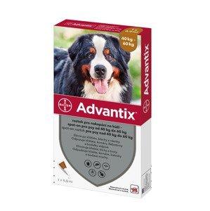 Advantix pro psy od 40 do 60 kg spot-on 1x6 ml